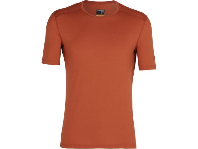 Icebreaker 200 Oasis Koszulka z krótkim rękawem Mężczyźni, roote